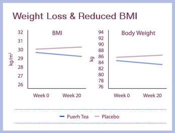 Weight Loss & Reduced BMI Chart