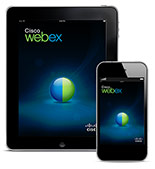 Cisco WebEx Meetings App for mobile devices