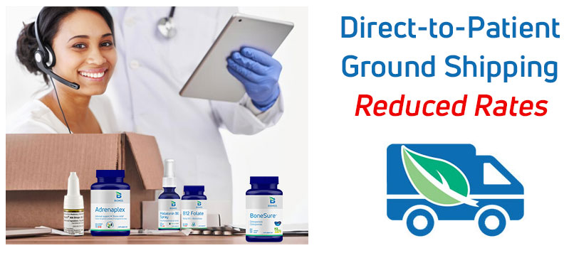 Direct-to-Patient ground shipping at reduced rates