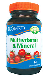 Food Nutrient Series Multivitamin and Mineral