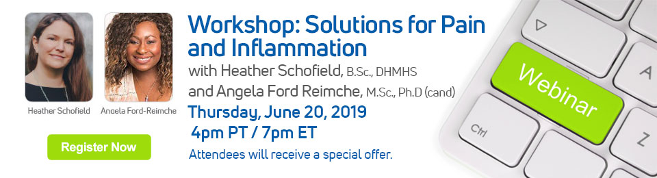 Workshop: Solutions for Pain and Inflammation