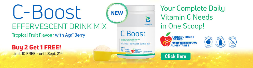 C Boost Effervescent Drink Mix