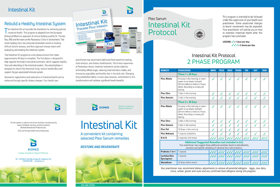 Intestinal Kit Handout