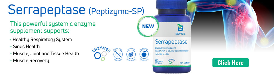 New Product - Serrapeptase