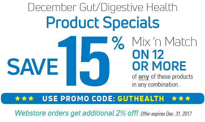 December Gut & Digestive Health Promotion
