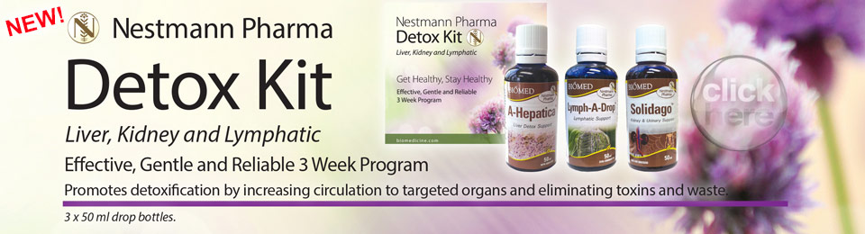 NEW! Nestmann Pharma Detox Kit