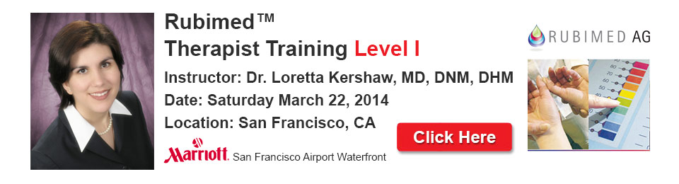 Rubimed Therapist Training Level I